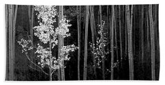 Aspens Northern New Mexico Hand Towel by Ansel Adams