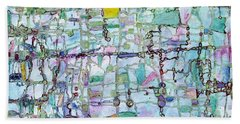 Associations Bath Towel by Regina Valluzzi
