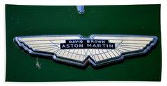 Aston Martin Badge Bath Towel