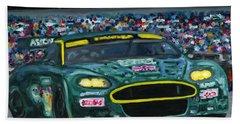 Aston Martin Wins Le Mans 2008 Bath Towel