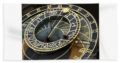 Astronomical Clock Hand Towel