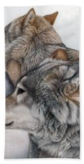 At Rest But Ever Vigilant Bath Towel by Pat Erickson