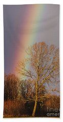 At The End Of The Rainbow Hand Towel