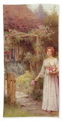 At The Garden Gate Hand Towel