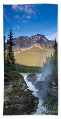 Athabasca Falls Bath Towel