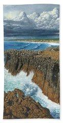 Atlantic Breakers Pontal Portugal Hand Towel