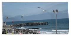 Bath Towel featuring the photograph Atlantic City 2009 by HEVi FineArt