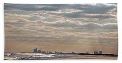 Atlantic City Skyline II Bath Towel