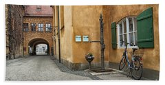Hand Towel featuring the photograph Augsburg Germany by Paul Fearn
