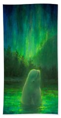 Aurora Beluga Bath Towel