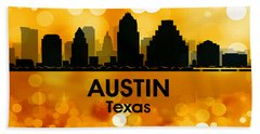 Austin Tx 3 Hand Towel by Angelina Vick