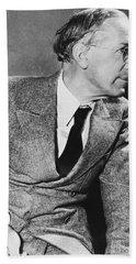 Author Upton Sinclair Hand Towel