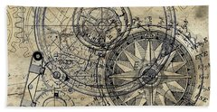 Autowheel II Hand Towel by James Christopher Hill