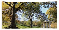 Autumn At Runnymede Uk Bath Towel