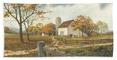 Autumn Barn Hand Towel