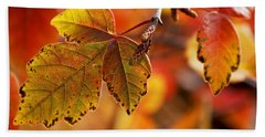 #autumn Hand Towel