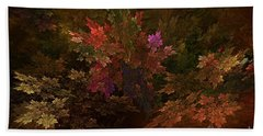 Hand Towel featuring the digital art Autumn Bouquet by Olga Hamilton