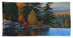 Autumn Breeze Bath Towel