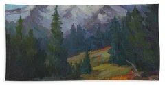 Autumn Color At Mount Rainier Bath Towel