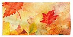 Autumn Dance Hand Towel