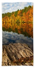 Autumn Day Hand Towel