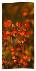 Autumn Emblem Hand Towel