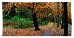 Autumn Entrance To Muckross House Killarney Bath Towel