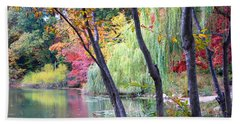 Autumn Fantasy Bath Towel by Dora Sofia Caputo Photographic Art and Design