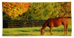 Autumn Grazing Hand Towel