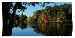 Autumn Grotto Bath Towel by Kenny Glotfelty