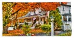 Autumn - House - The Beauty Of Autumn Hand Towel
