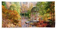 Autumn In Longwood Gardens Hand Towel