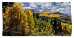 Autumn In New Mexico Bath Towel