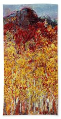 Autumn In The Pioneer Valley Bath Towel by Regina Valluzzi