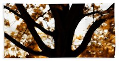 Bath Towel featuring the photograph Autumn Is Here  by Sotiris Filippou