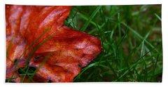 Autumn Leaf Bath Towel by Melissa Petrey