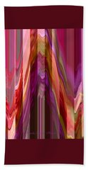 Autumn Leaves 1 - Abstract Autumn Leaves - Photography Hand Towel