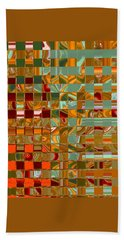 Autumn Leaves 8 - Abstract Images - Manipulated Photograph Hand Towel