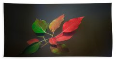 Autumn Leaves Floating Hand Towel
