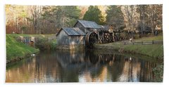 Autumn Morning At Mabry Mill Hand Towel