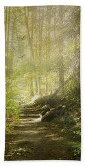 Autumn Myst Hand Towel by Diane Schuster