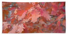 Autumn Paintbrush Hand Towel