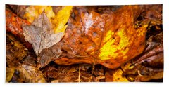 Autumn Pile Bath Towel