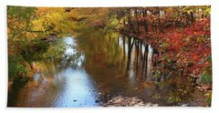 Autumn Reflection Hand Towel