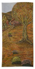 Autumn Sequence Bath Towel