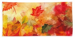 Autumn Serenade  Bath Towel