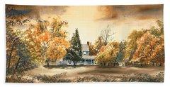 Autumn Sky No W103 Hand Towel