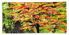 Autumn Splendor Hand Towel