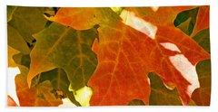 Autumn Sunlight Hand Towel