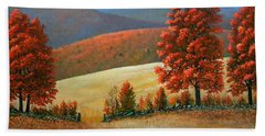 Autumns Glory Hand Towel